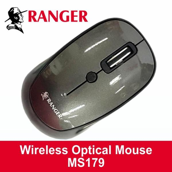 [Free Delivery] Ranger Wireless Optical Mouse MS179. Ex-stocks. 12 mths local warranty. Delivery normal 2-3 working days.