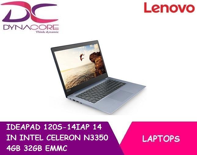 BRAND NEW LENOVO IDEAPAD 120S-14IAP (81A500E9SB) 14 IN INTEL CELERON N3350 4GB 32GB EMMC WIN 10S