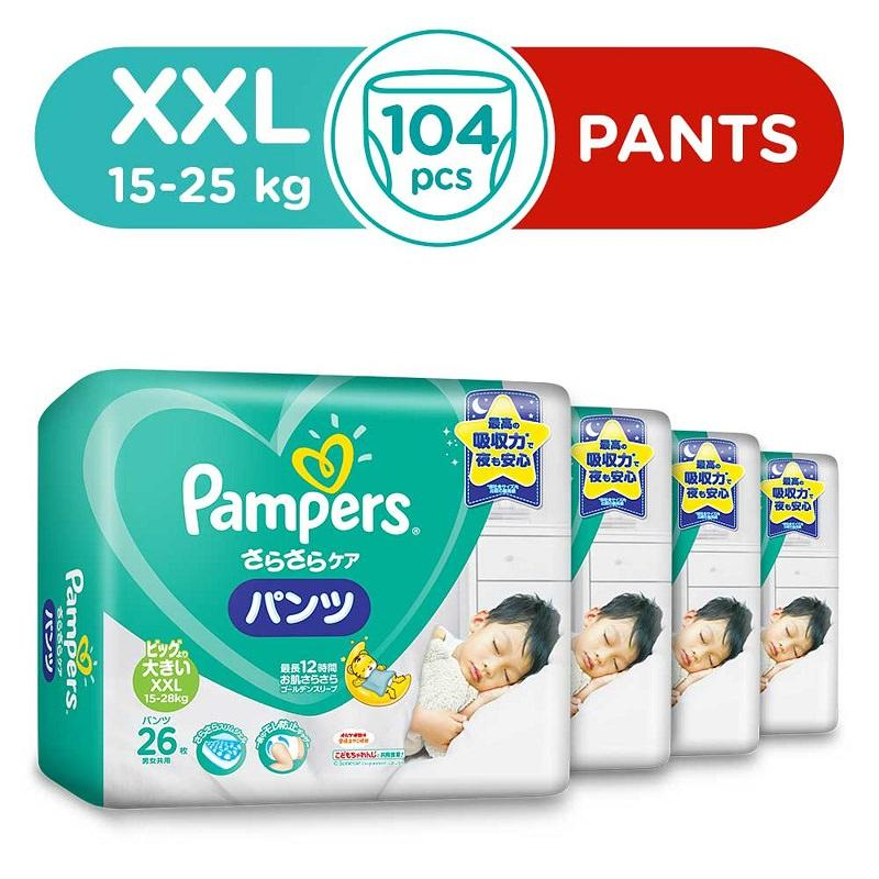 Best Offer Pampers Baby Dry Pants Xxl 26S 15 25 Kg X 4 Packs
