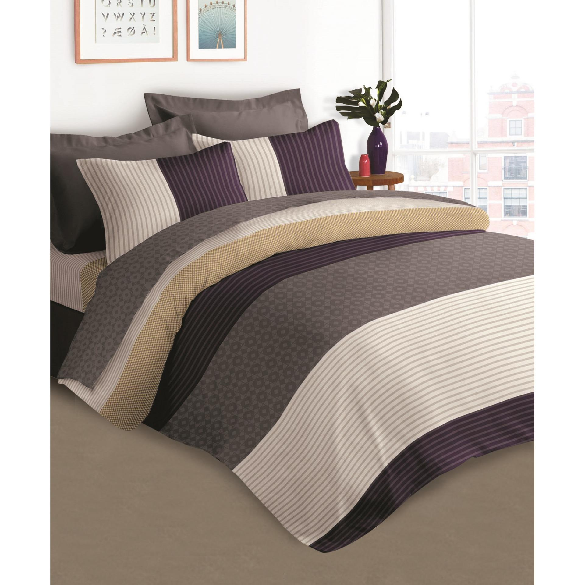 Compare Price Akemi Cotton Select Affluence Larkin Quilt Cover Set On Singapore