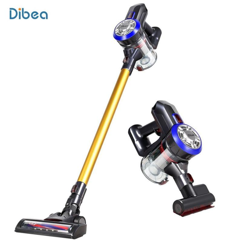 Dibea D18 Lightweight Cordless Handheld Stick Vacuum Cleaner with Motorized Brush Singapore