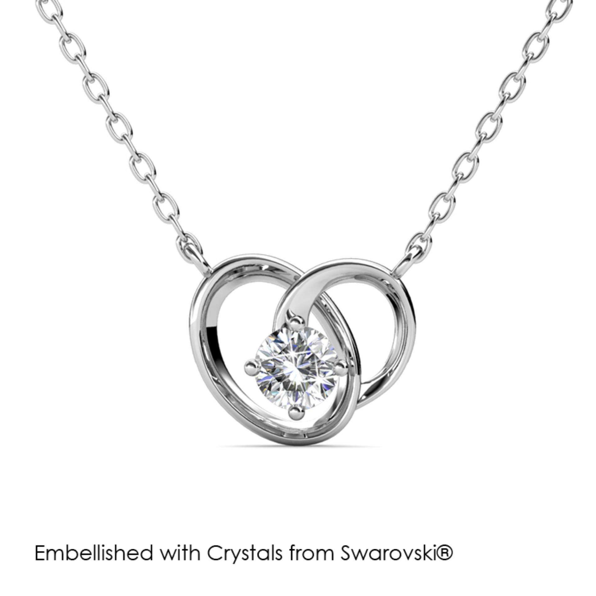Harmony Pendant - Embellished With Crystals From Swarovski®.