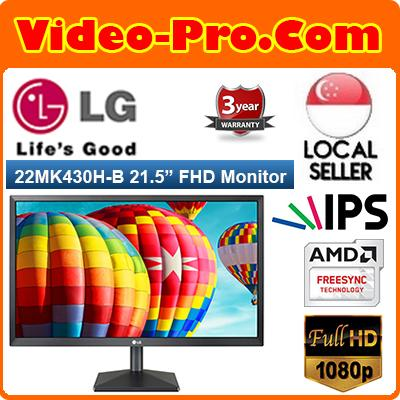 LG 22MK430H-B 21.5-Inche Full HD (1920x1080) IPS Monitor with AMD FreeSync  22MK430 /  22MK430H 3-Years On-Site Warranty