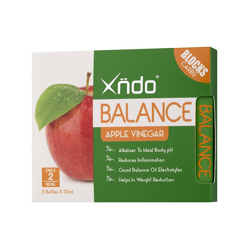 Xndo - Balance Apple Vinegar 5s By Xndo (capitaland Merchant).