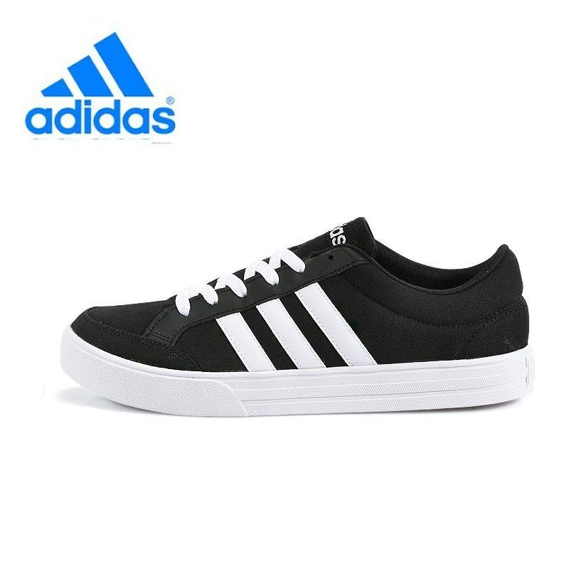 Sale Adidas Unisex Neo Running Shoes Aw3890 Black White Sneakers On South Korea