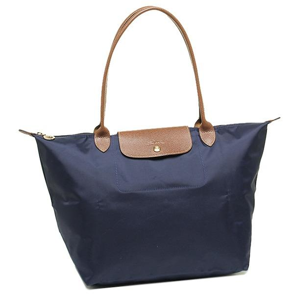 Purchase Longchamp Le Pliage Nylon Tote Large 1899 Navy Blue