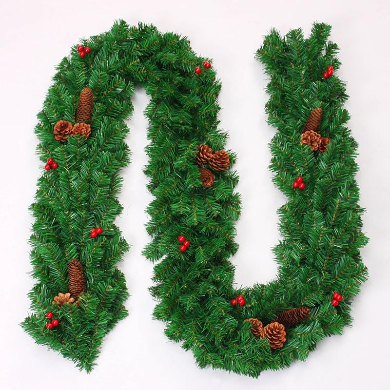 2.7 M Christmas Tree Rattan Bingo Combo Christmas Pendant Bow Christmas Decoration Rattan By Taobao Collection.