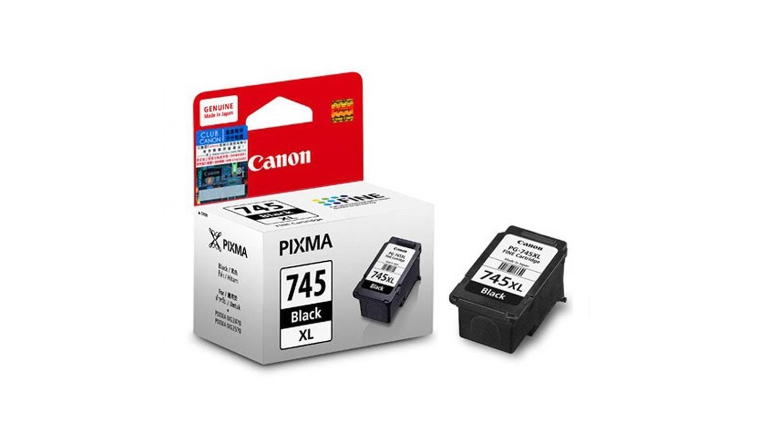 Inkjet Printer Cartridges Lazada Canon Ink Cartridge Cli 751 Yellow Xl Original Pg 745xl Black Cl 746xl Color