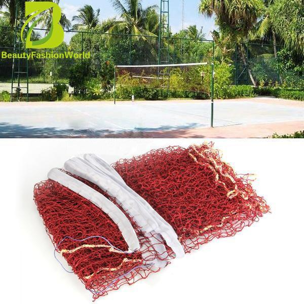 Standard Sport Competition Braided Tennis Badminton Nylon Net 6.1 X 0.76m New - Intl By Beautyfashionworld.
