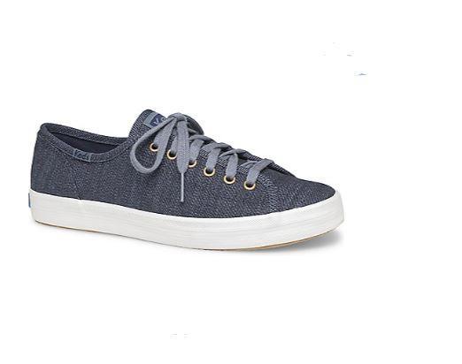 704166e3ec3 Keds Kickstart Denim Twill Women Sneakers Blue (WF59026)