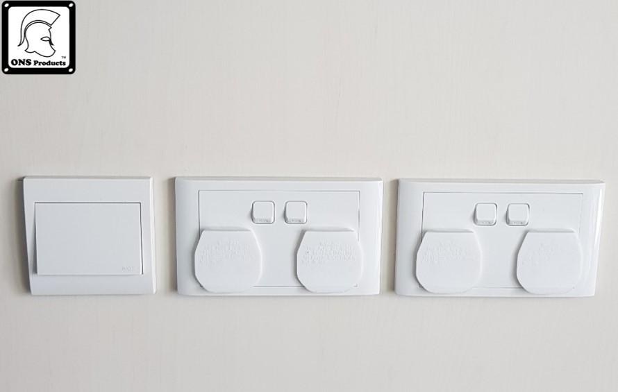 Baby Safety Socket Cover 3pcs
