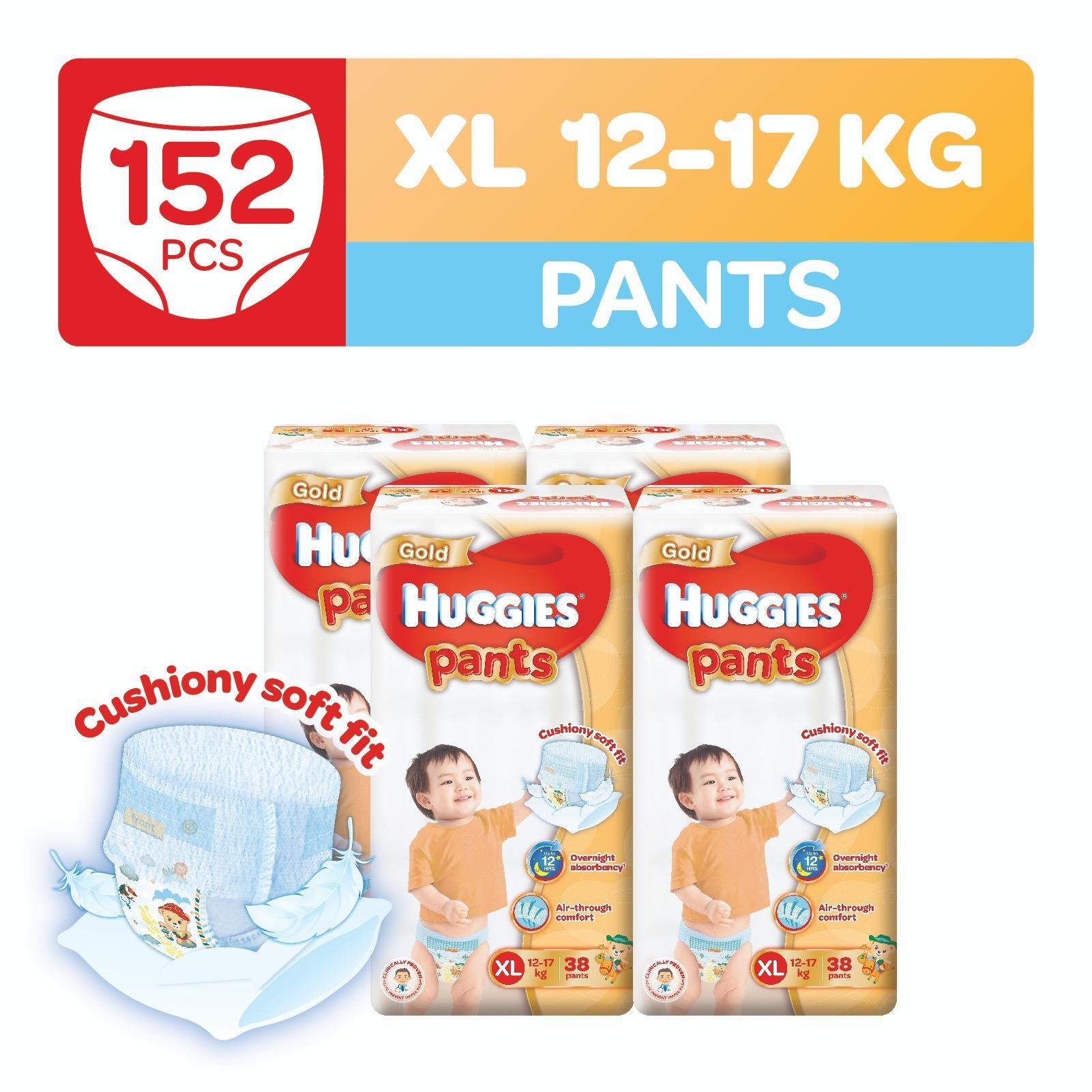 Discount Huggies Gold Pullup Pants Xl 38Pcs X 4 Packs