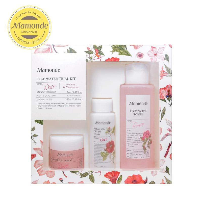 Buy [SKINCARE EXCLUSIVE] Mamonde Rose Water (AD) Travel Kit Set Singapore