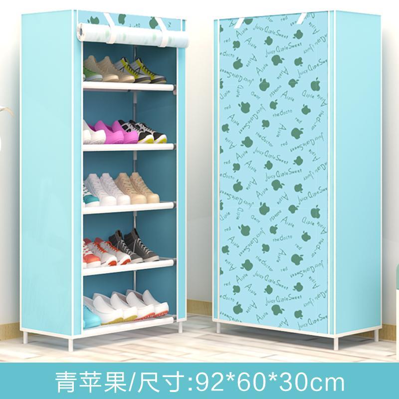 Simple Shoe Rack Household Economy SHOEBOX Minimalist Modern Hall Cabinet Multi-functional Doorway Assembly Multilayer Shoe Rack Sub-