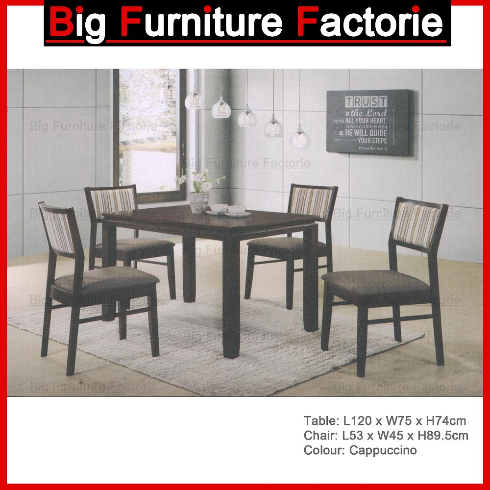 BFF-Wooden Dining Set CAPP4 (1+4)