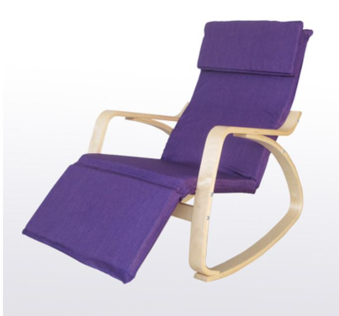 JIJI Premium Rocking Chair (With Leg Rest) (Rocking Chair) - Relax Chair/ Recliner / Singapore Local Seller 12 Month Warranty + Free Delivery (SG)