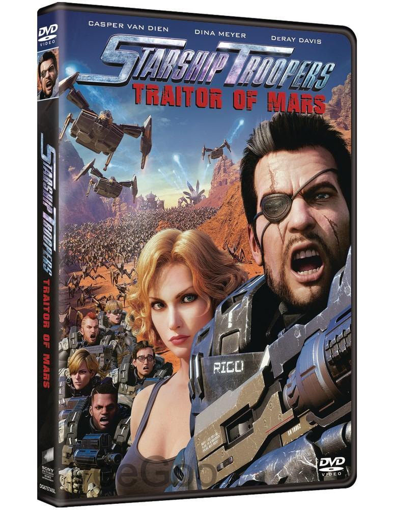 STARSHIP TROOPERS: TRAITOR OF MARS DVD (PG13/C3)