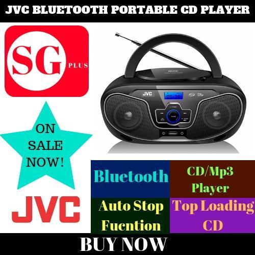 Jvc Bluetooth Portable Cd Player Rd-N327 By Sgplus.