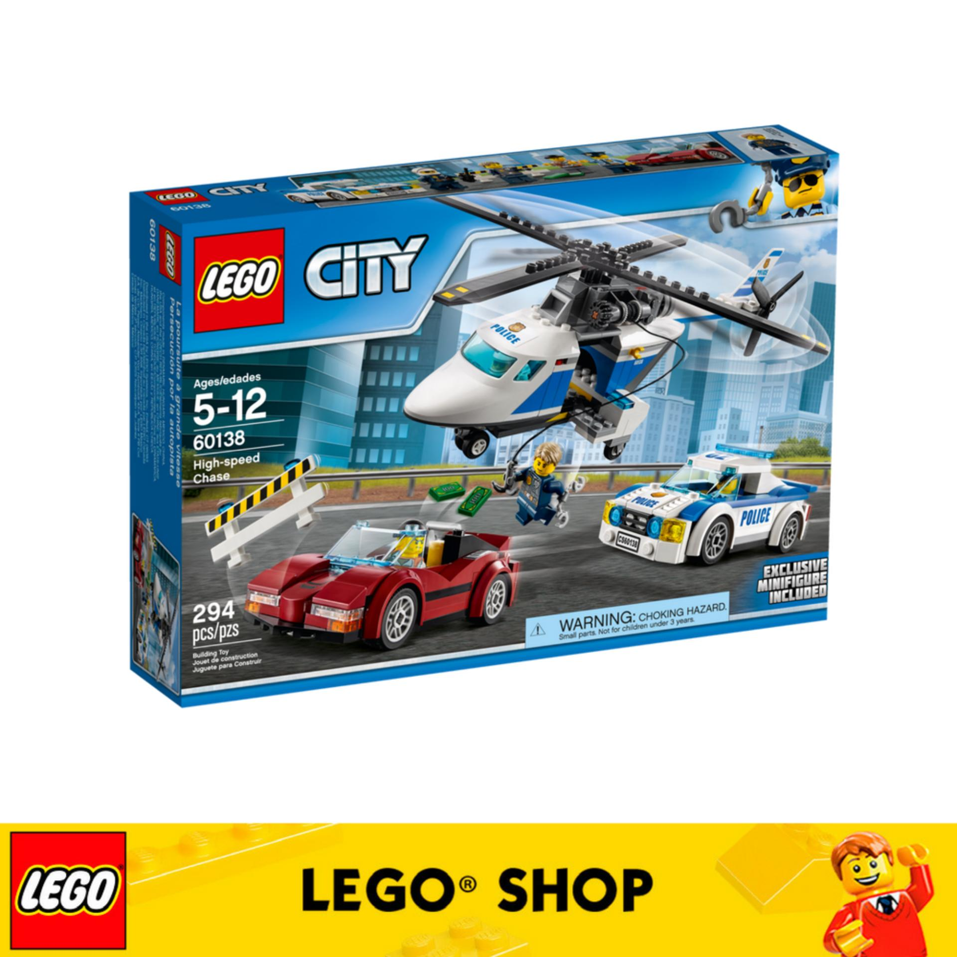 LEGO City Police High-speed Chase - 60138