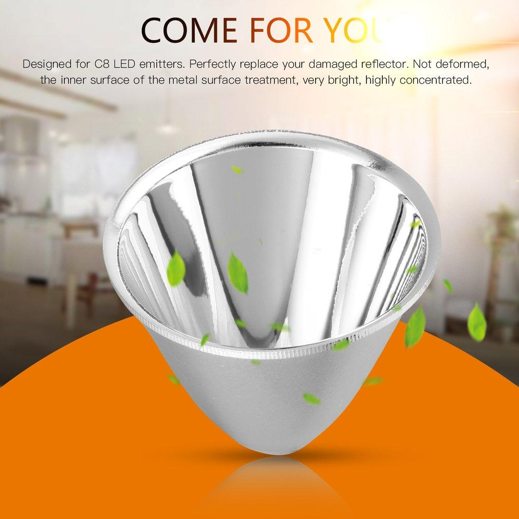 1pc Replacement Aluminum Reflector Cup for C8 XM-L Flashlight DIY