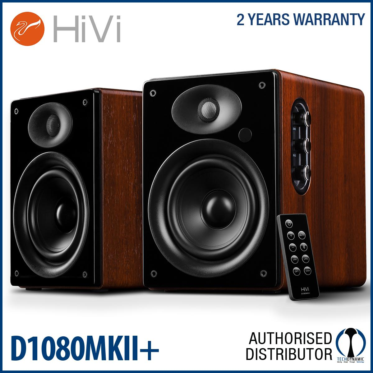 HiVi Swanspeakers D1080 MK2+ Multimedia Speakers