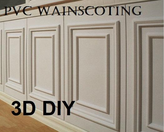 3D PVC Wainscoting DIY Wall Decoration Type A/B/C