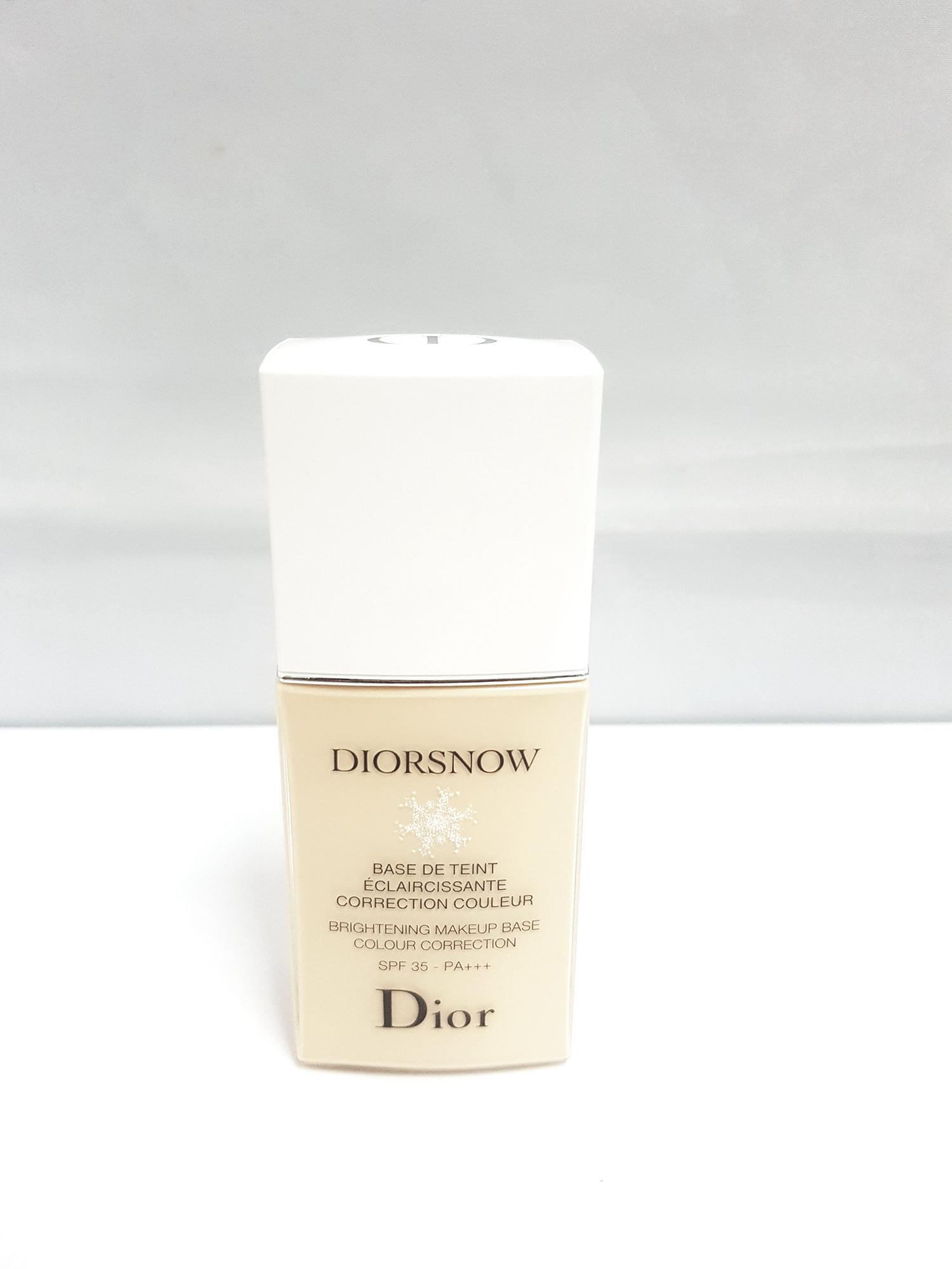 Diorsnow Base Teint Spf 35 Pa+++ Beige 30ml (tester Pack) Unused By Mybeautystory.