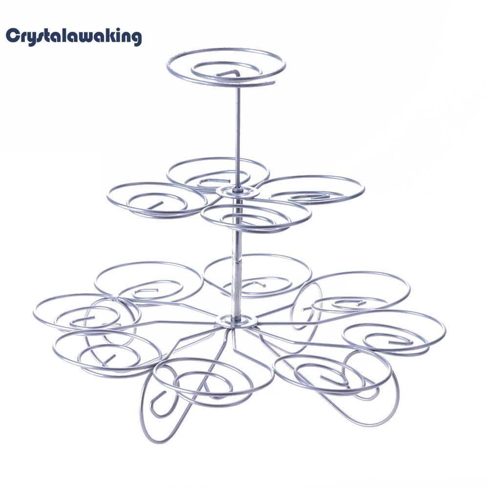 Party Decoration Best Performance 3 Tier 13 Cupcakes Cake Pop Stand Holder By Crystalawaking.