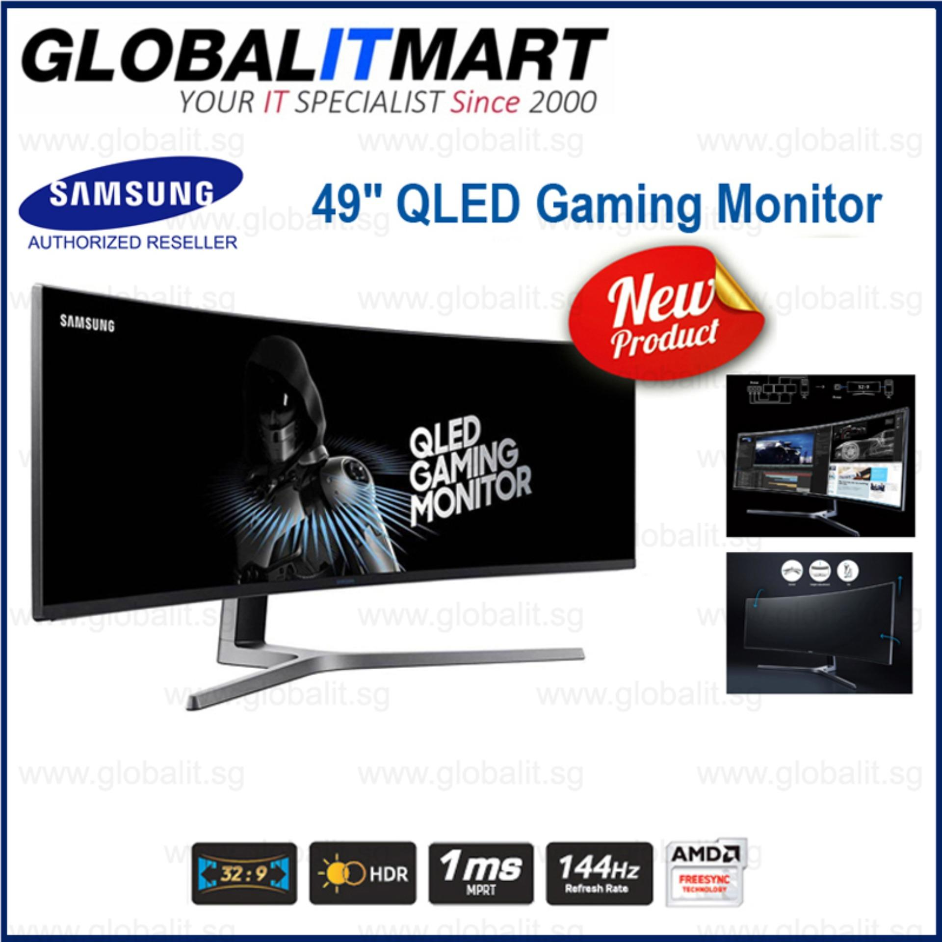 Samsung LC49HG90 49 Ultra-wide Curved QLED Gaming Monitor Singapore