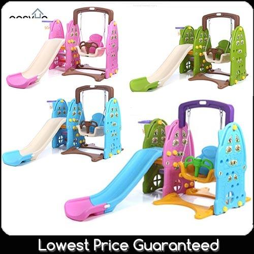 Swing Slide - Kids Children Indoor Outdoor Playground Toy By Easyhome.sg.