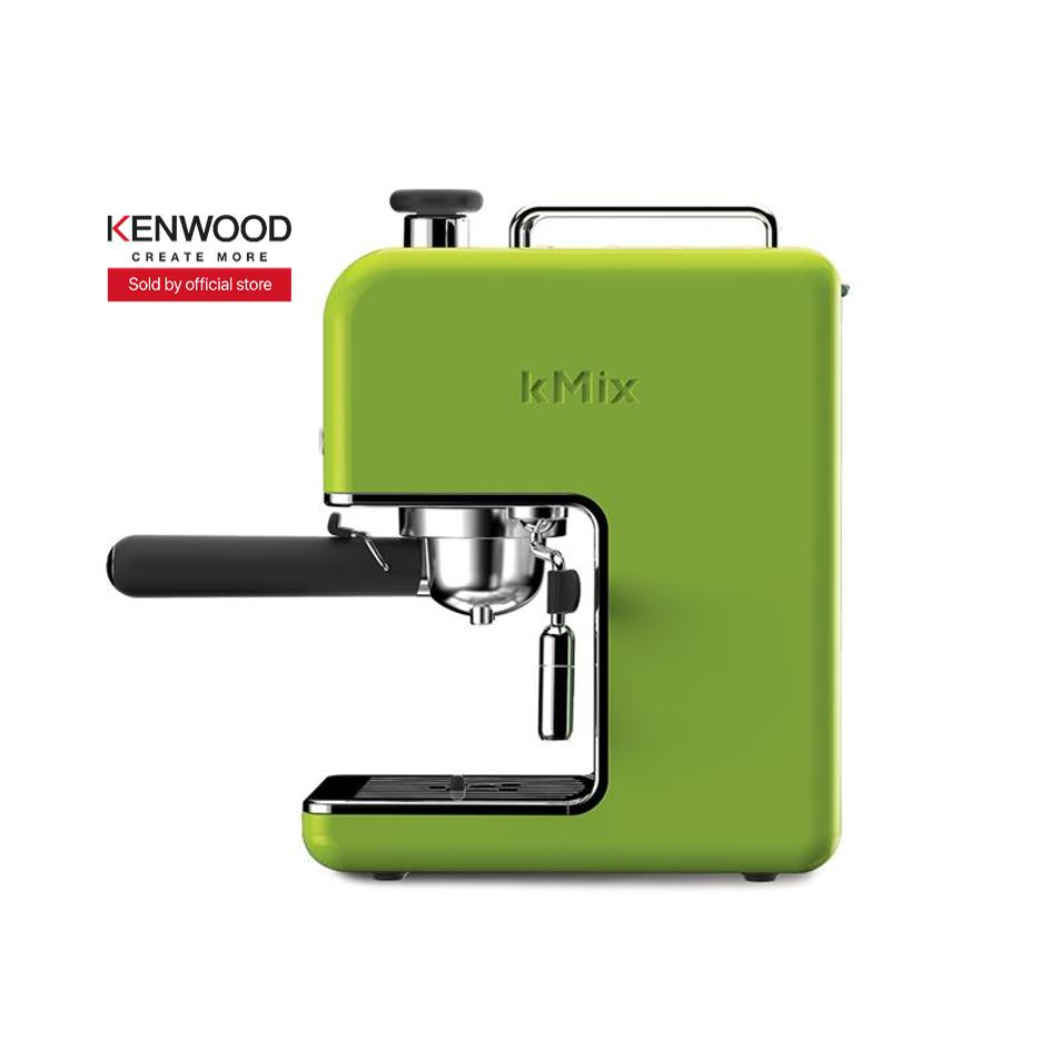 Price Kenwood Es020Gr Espresso Coffee Maker Coffee Machine Green Online Singapore