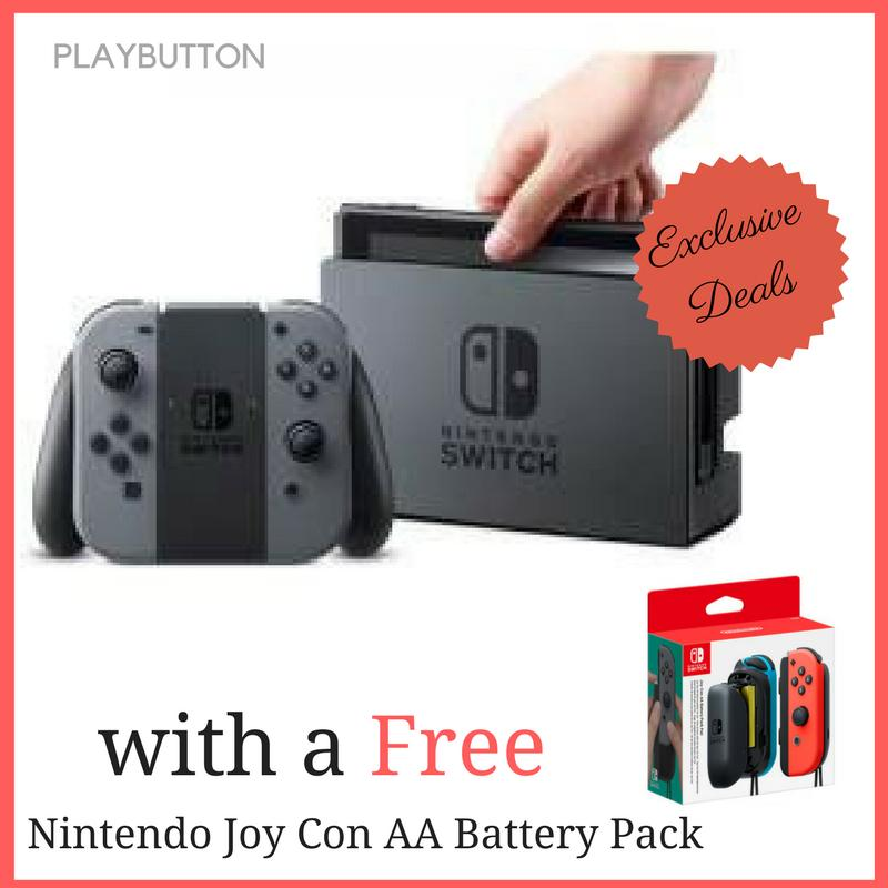 Sale Nintendo Switch With Gray Joy Con Export Set On Singapore