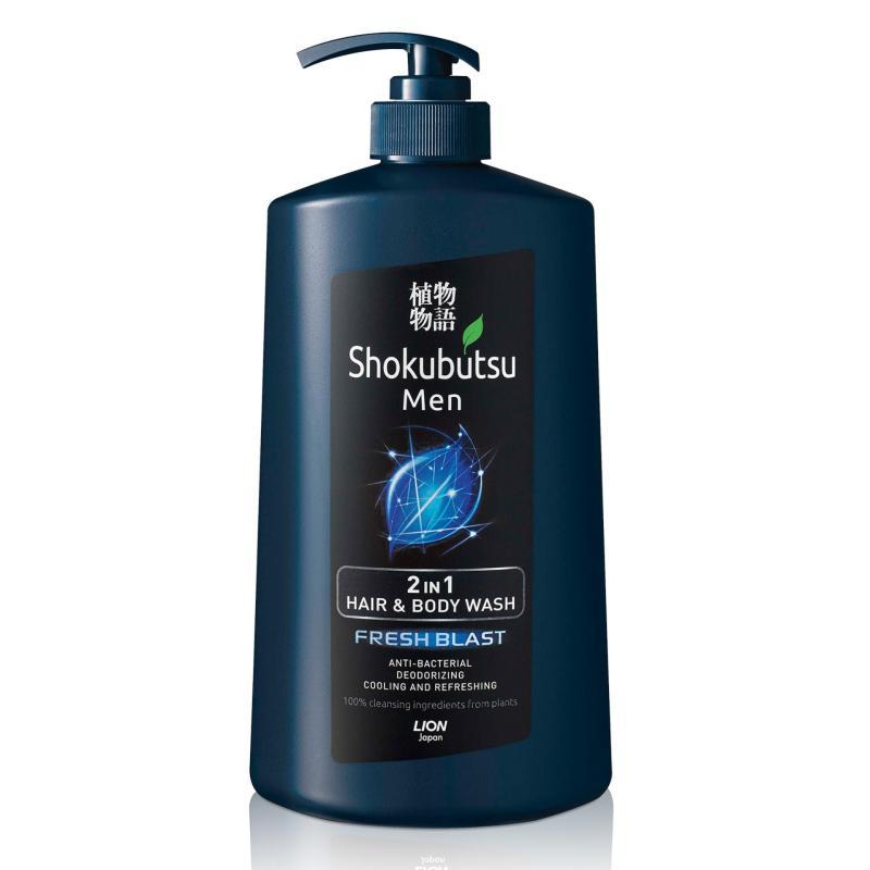 Buy Shokubutsu Men 2-in-1 Hair & Body Wash (Fresh Blast), 850ml Singapore