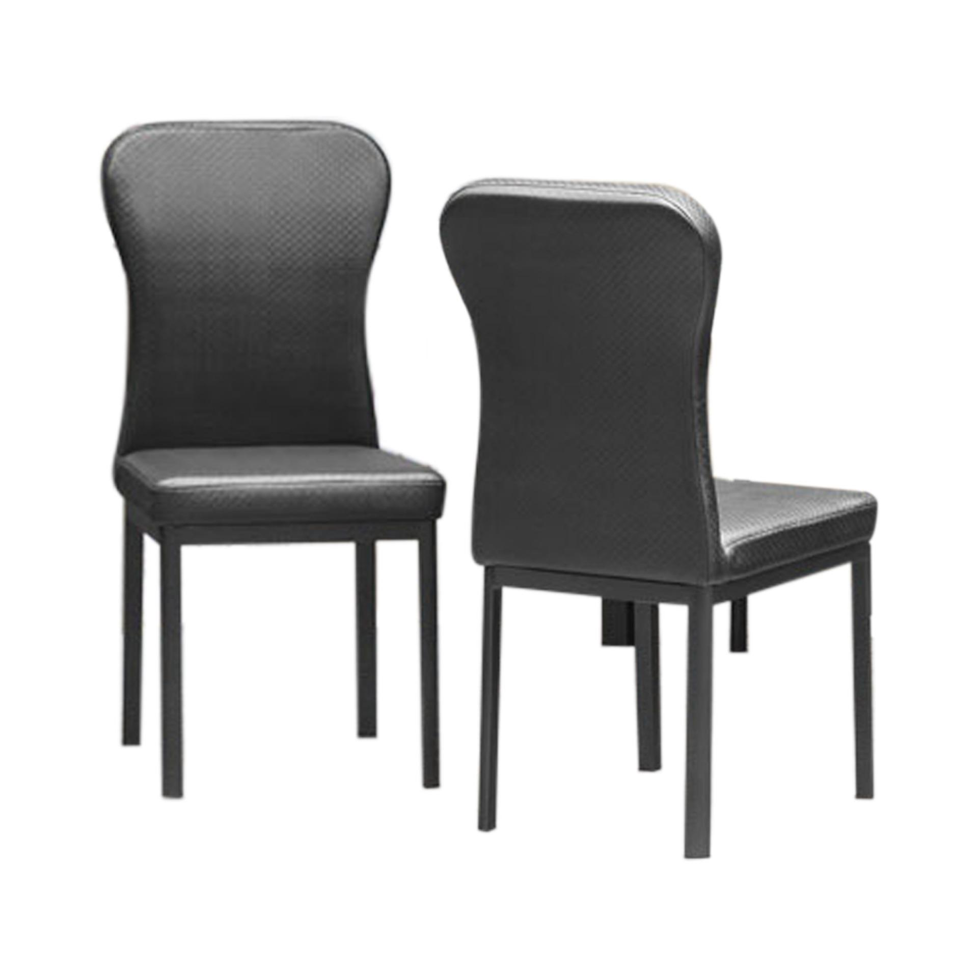 Silke Dining Chair_Set of 2 (FREE DELIVERY)(FREE ASSEMBLY)