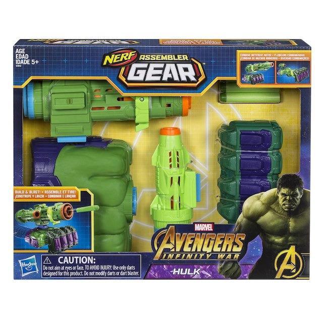 Sale Marvel Avengers Infinity War Nerf Assembler Gear Hulk Marvel Online