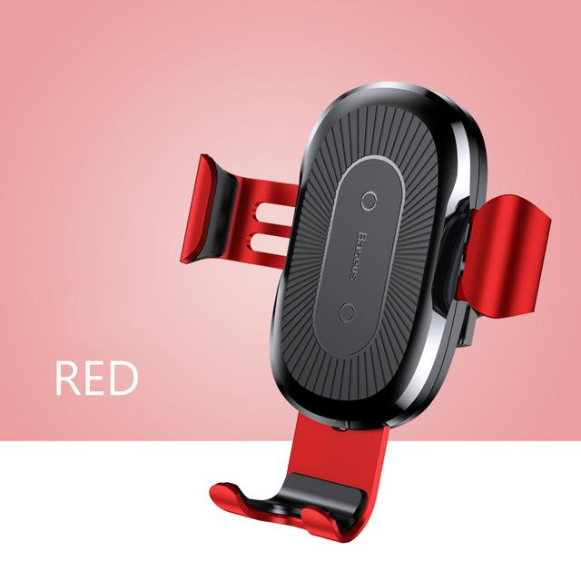 Sale Baseus Car Mount Qi Fast Wireless Charger Online Singapore