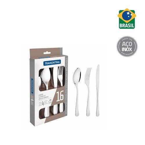 Tramontina Stainless Steel Cutlery Set (16pcs) By Tramontina Singapore Pte Ltd.