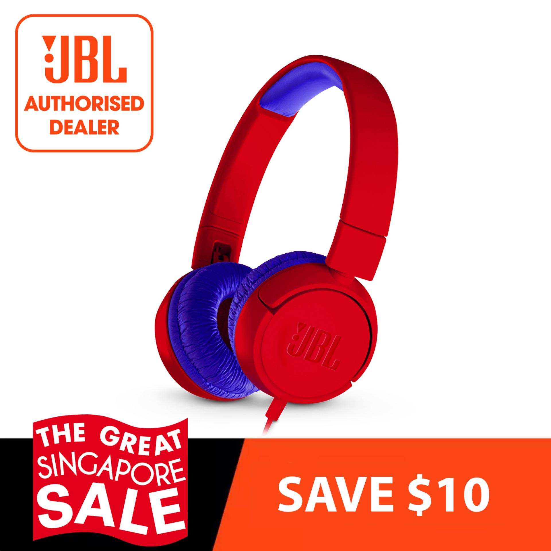 Jbl Jr300 Red Kids On Ear Headphones Review