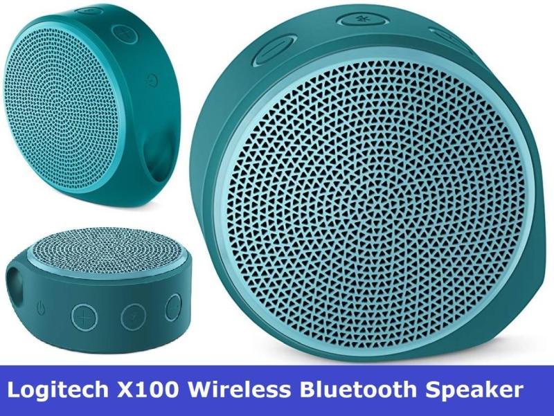 LOGITECH X100 MOBILE WIRELESS BLUETOOTH SPEAKER *1-Year Limited Hardware Warranty* 3 COLORS Singapore