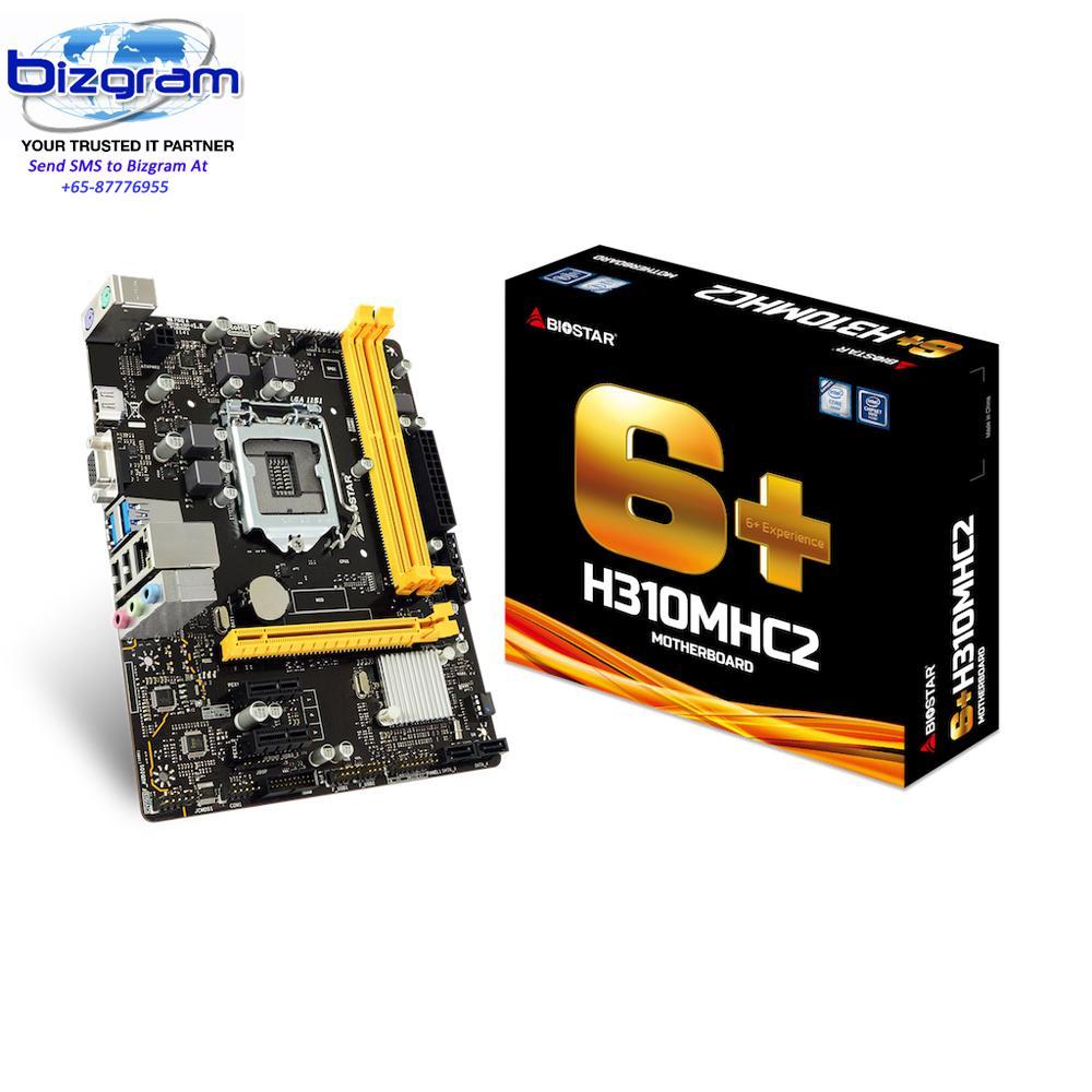 Biostar Motherboard TB250-BTC Core i7/i5/i3 LGA1151 Intel