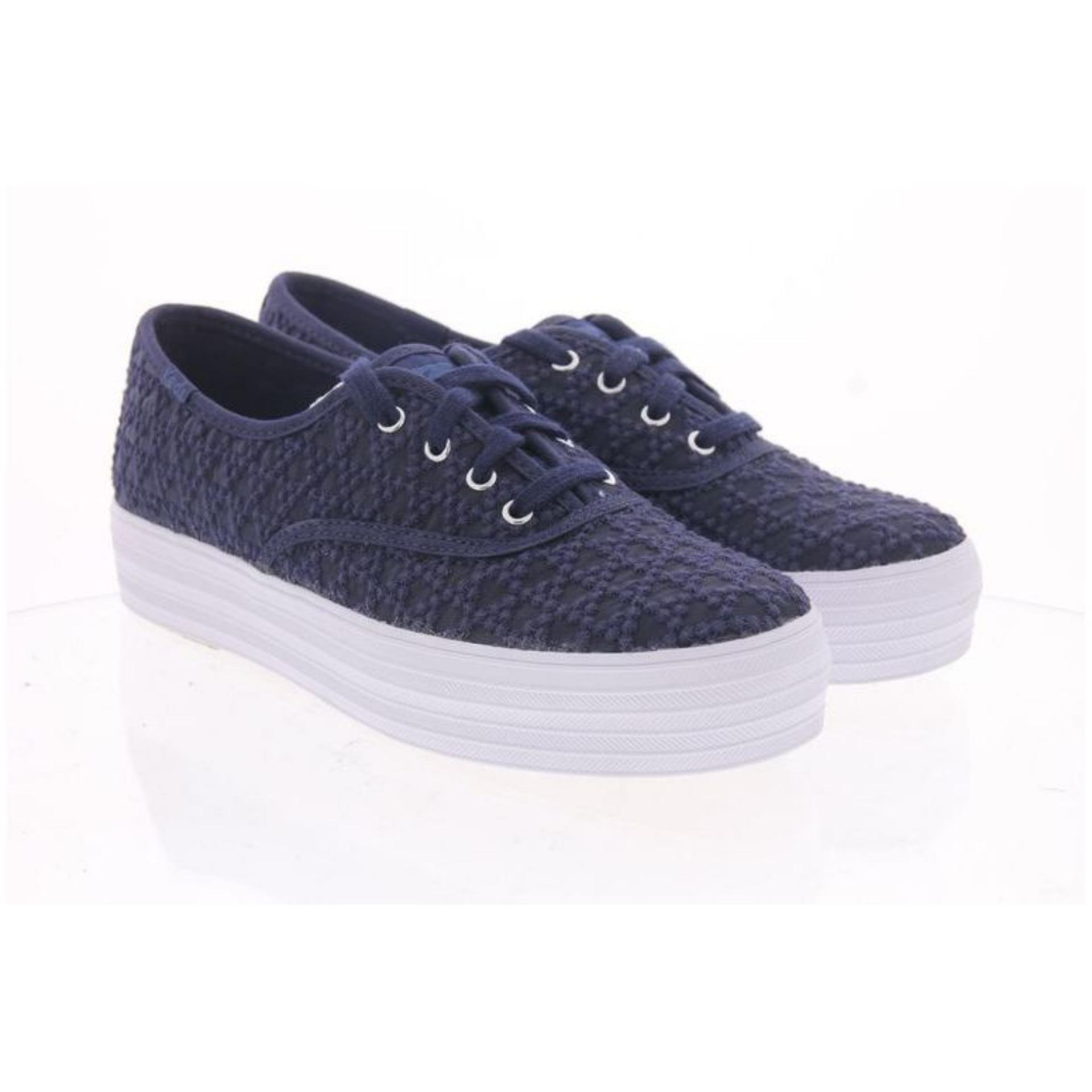 92aa64853e5c4f Keds Triple Embroidered Triangle Sneakers (WF58033)
