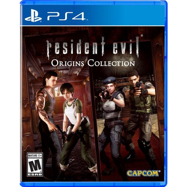 Sale Ps4 Resident Evil Origins Collection As R3 Age Advisory Singapore