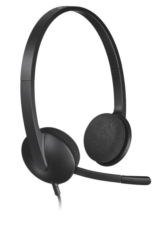 Logitech H340 USB Headset with Noise-Cancelling Mic Singapore