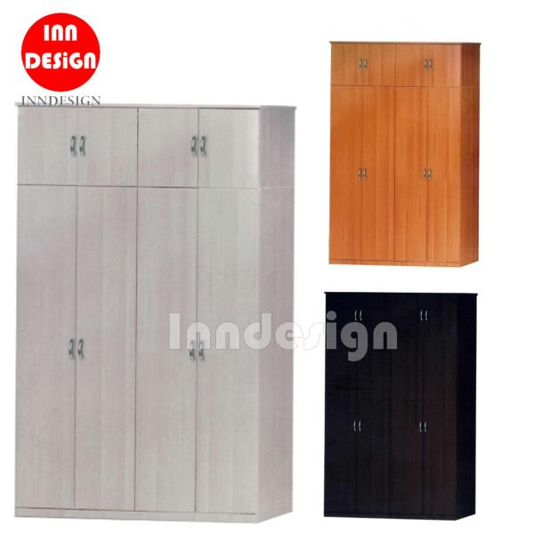 Eiffel 8 Doors Wardrobe / Open Wardrobe (Free Delivery and Installation)