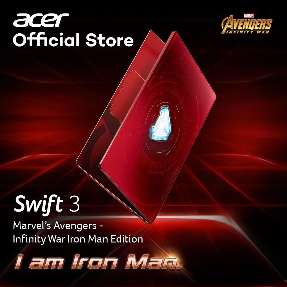 Acer Avengers Iron Man Limited Edition Swift 3 Sf314 53G 59Ks Thin And Light Laptop Price Comparison