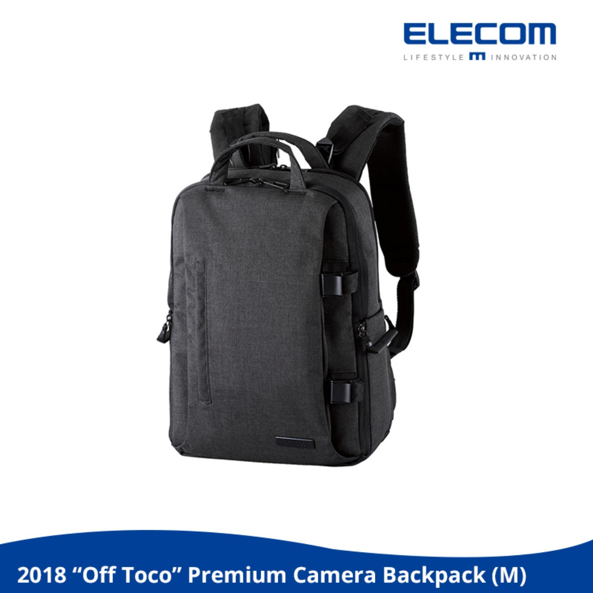 Best Offer Elecom Off Toco Premium Camera Backpack M Size 2018 New Model Nikon Canon Dslr Laptop 14Inch