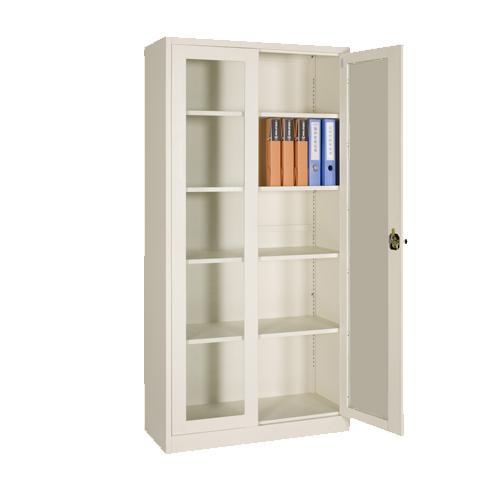 FC-G5 Full Height Glass Swing Door Cabinet