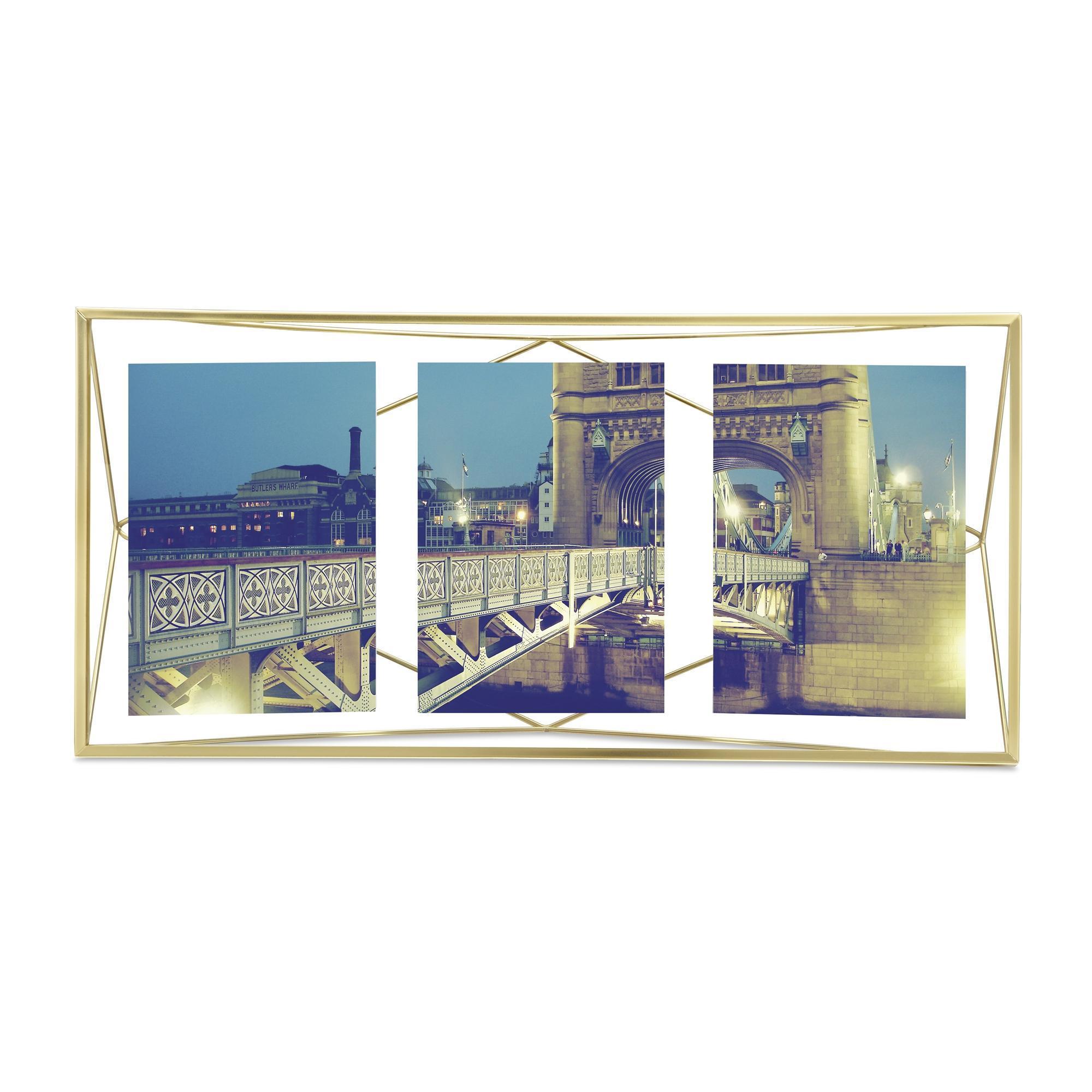 Umbra Prisma Photo Frame - Matte Brass