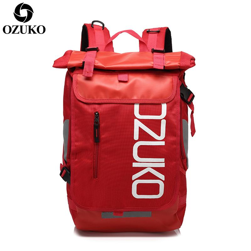 Ozuko Fashion Backpack Sports Fitness Casual Backpack