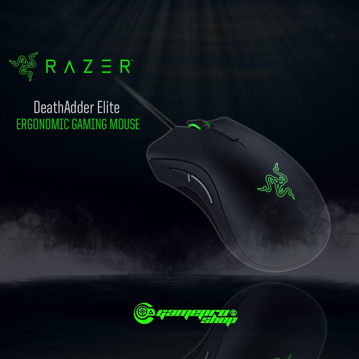 Buy Razer Gaming Accessories Singapore Lazada Mouse Ouroboros Black Deathadder Elite Ergonomic 1212 Promo